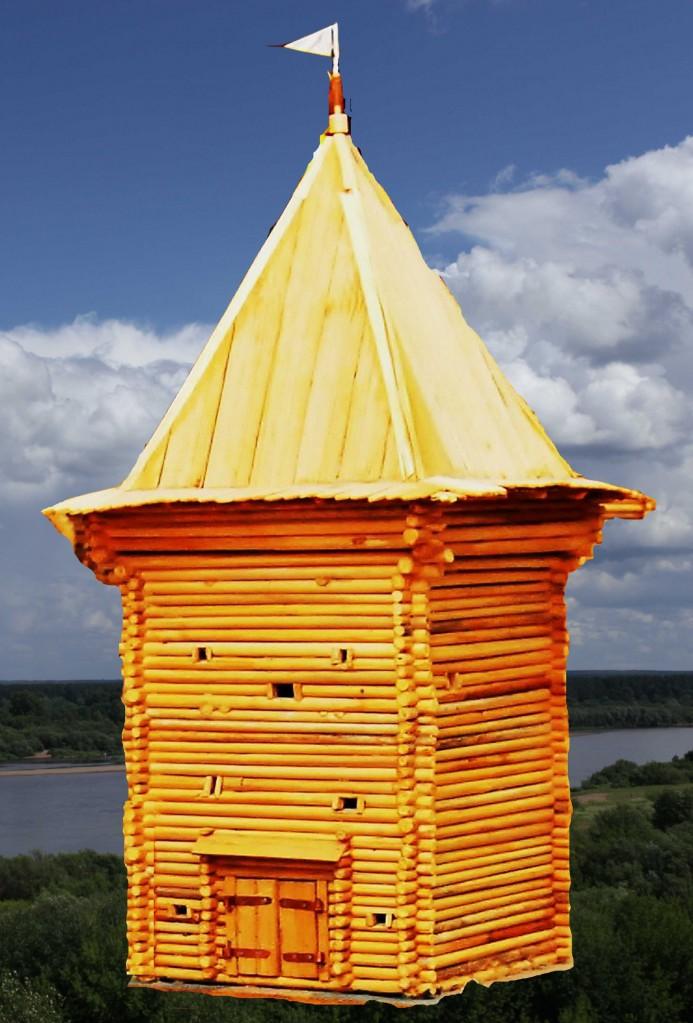 Воскресенская башня