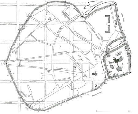 схема расположения улиц