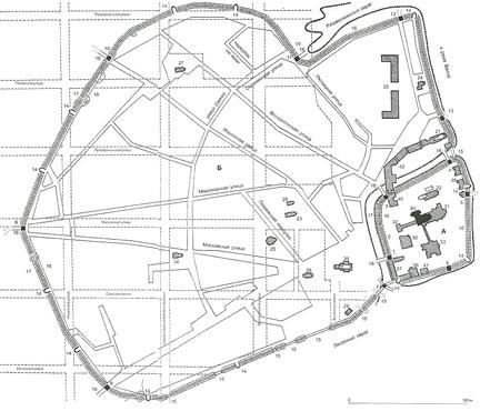 Фото 2 План-схема Хлынова 17 век ум