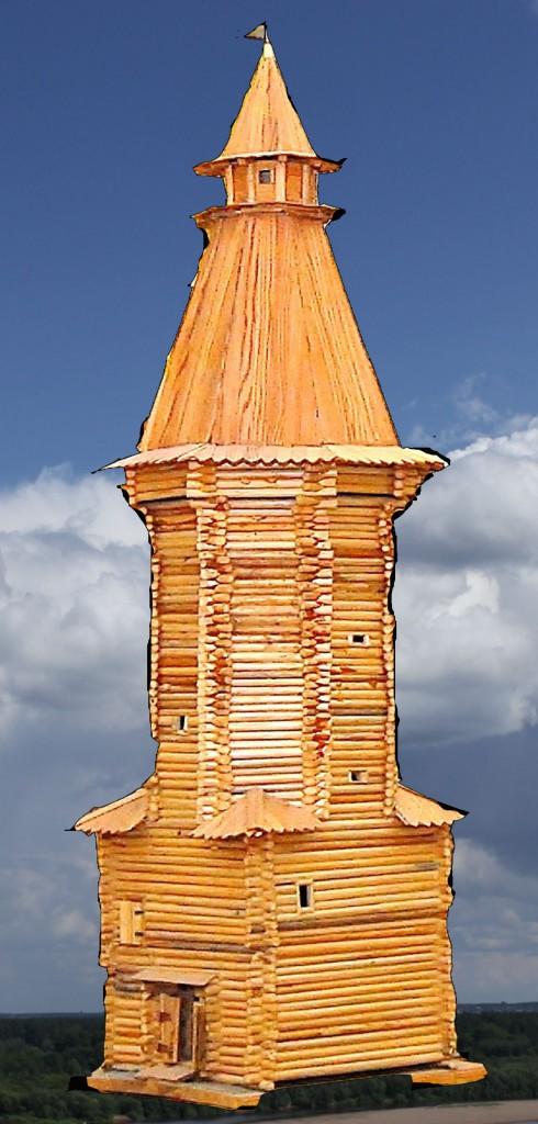 Ильинская башня посада