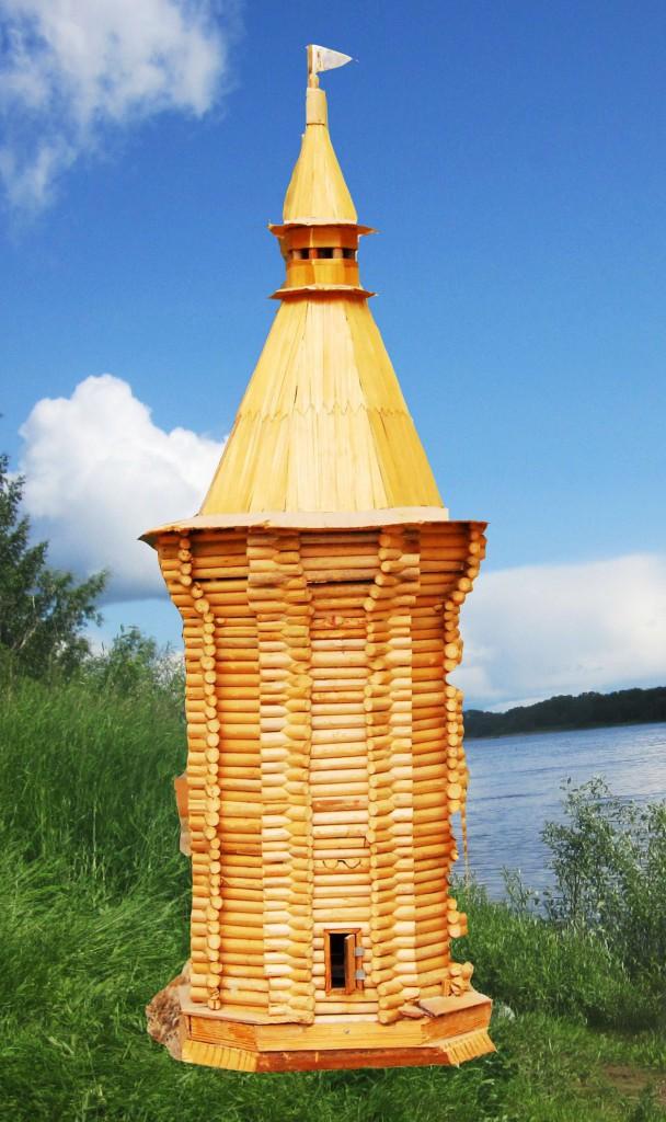 Башня 17 наугольная фото